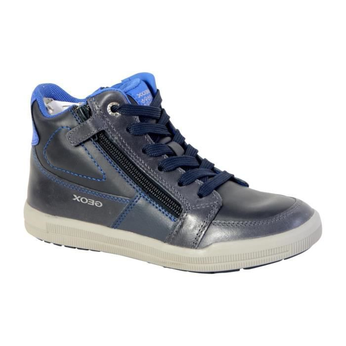 Basket Geox Enfant Arzach Boy J744AF 0BCCL C4226 Navy Royal