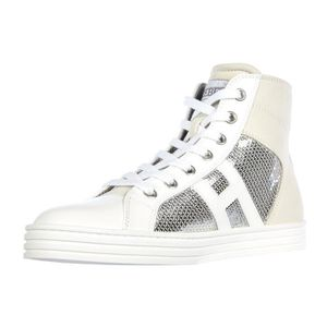 Chaussures baskets sneakers enfant fillescuir r260 allacciato zip Hogan Rebel HOhXyDN8V