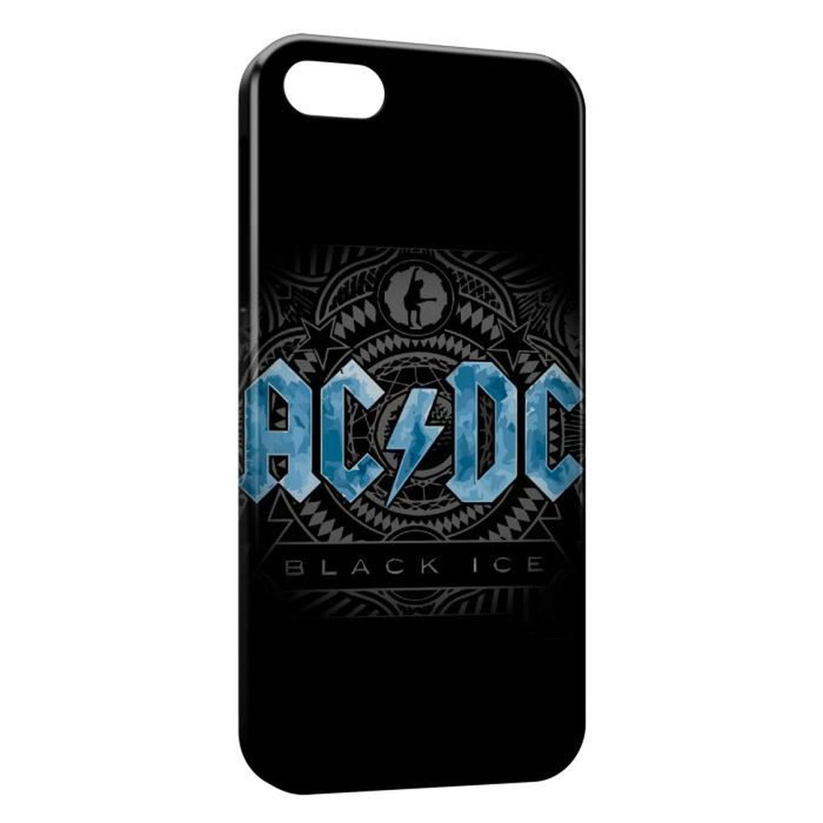 coque iphone se acdc black ice rock n roll
