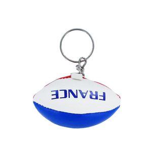 PORTE-CLÉS Porte cles ballon rugby drapeau  france
