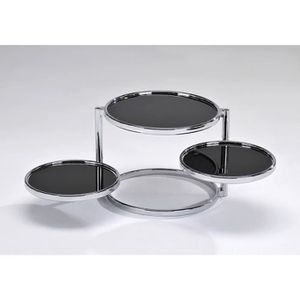 Cher Achat Basse Table Ronde Vente 3 Plateaux Pas vN8wn0mO