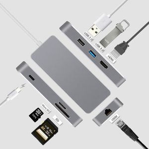 AUTRE PERIPHERIQUE USB  Hub USB 3.0 - 3 Ports - Type- USB C-Lecteur de car