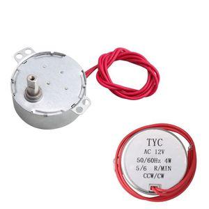 PIÈCE MATÉRIEL ÉLECTR. Moteur synchrone électrique 12V AC 5-6 RPM CW / CC