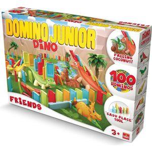 DOMINOS Goliath - Domino Express Junior Friends - Jeu de c