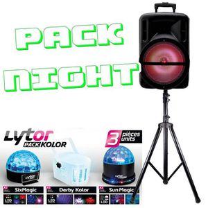 PACK SONO PACK NIGHT KOLOR + DJOON 500W LED  + PIED