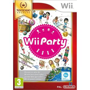 JEUX WII NINTENDO WII PARTY SELECTS…