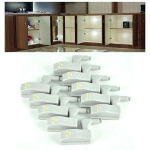 ECLAIRAGE DE MEUBLE 10 Pack Cabinet universel Charnière en armoire Sys