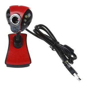 WEBCAM USB 2.0 50.0M 6 LED PC Camera HD 1080P Webcam Came