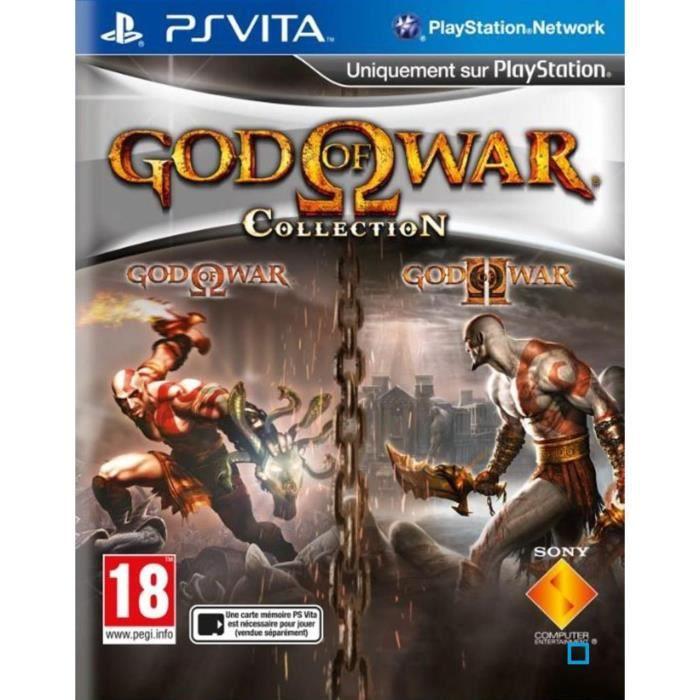 God Of War Collection Jeu PS Vita