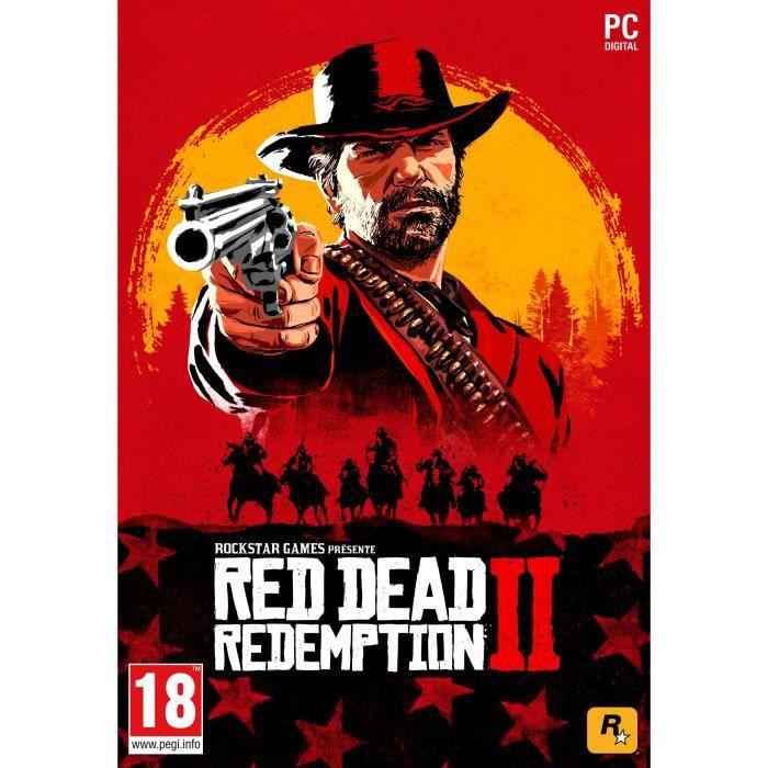 JEU PC Red Dead Redemption 2 Jeu PC à télécharger (code d