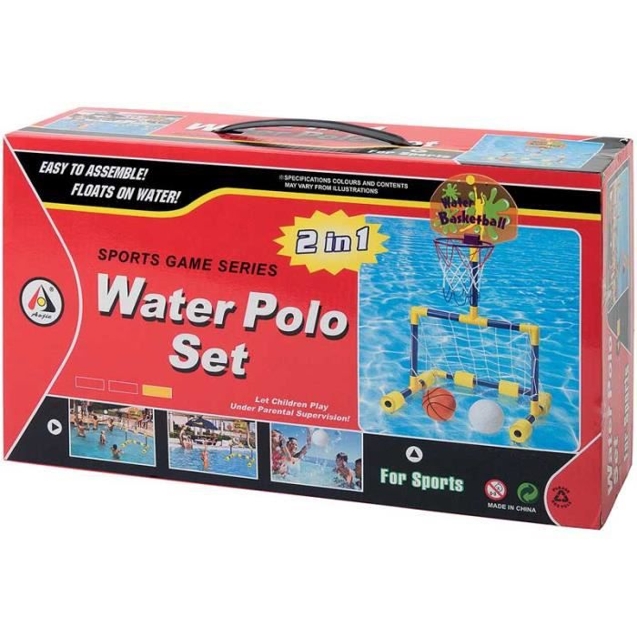 2 IN 1 WATER POLO