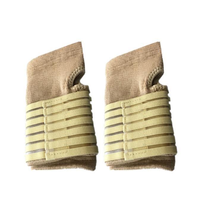 1 paire de bracelets respirant Bandage Compression attelle de poignet pour PACK PRODUITS DE FITNESS - PACK PRODUITS MUSCULATION