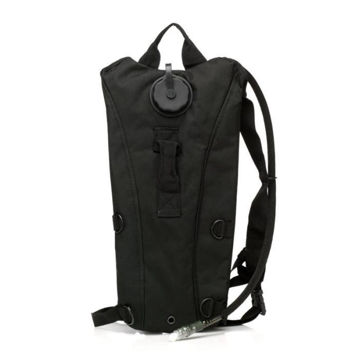 1 sac à eau Pc noir système d'hydratation professionnel tactique poche à vessie pour la CAMELBAK - HYDRATION BAG - WATER POCKET