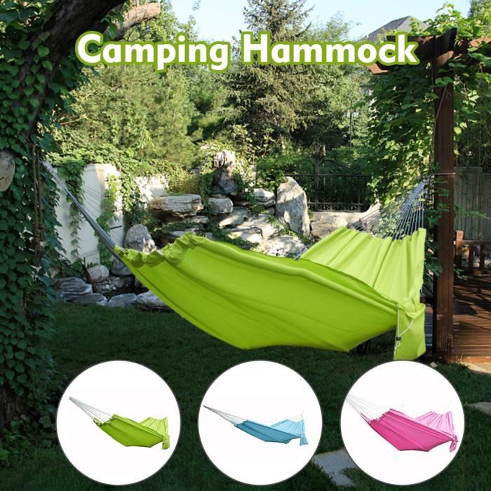 Prem Avec Sac De Rangement Extérieur Portable Léger Yard Jardin Camping Hamac Confort Intérieur Dormir Double Personne Chaise Susp