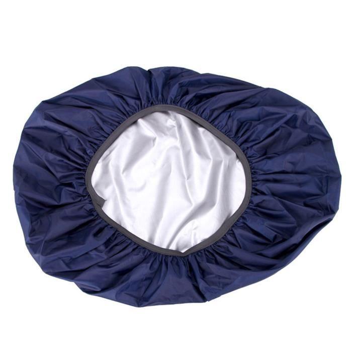 Sac Housse De Pluie 35-70L Protable Étanche Anti-larme Anti-UV Anti-UV Couverture De Sac À Dos pour Vieux bleu 55-60 litres (L)