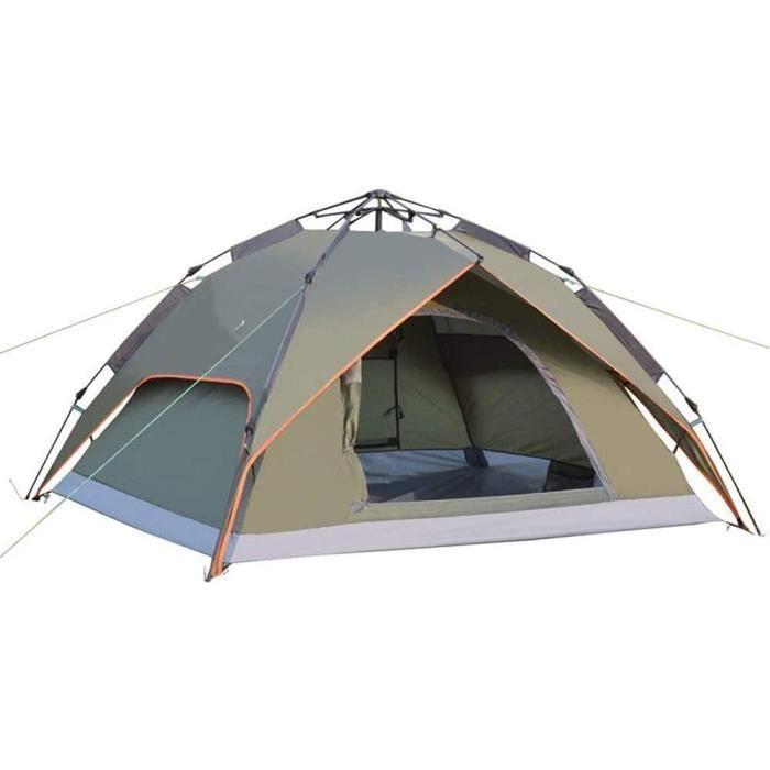 BHBXZZDB Tente Automatique de Camping de Luxe, Double Sac agrave Dos avec Grand Espace pour Le Camping agrave Dos, randonneacutee