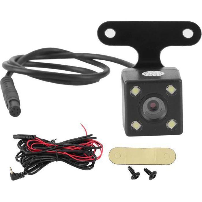 Fafeicy moniteur de recul universel Caméra de recul de vue arrière 5 broches haute définition grand angle 170 degrés IP68