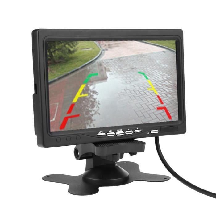 Ecran LCD TFT de caméra de recul de 7 pouces
