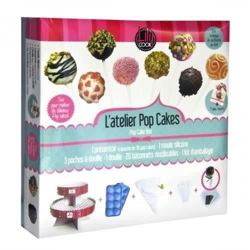 LILY COOK Coffret Pop Cakes Complet
