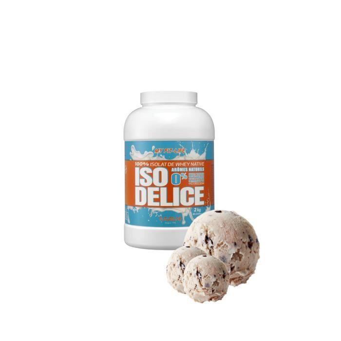 Iso Delice 2KG Stracciatella 100% protéine isolate de whey native