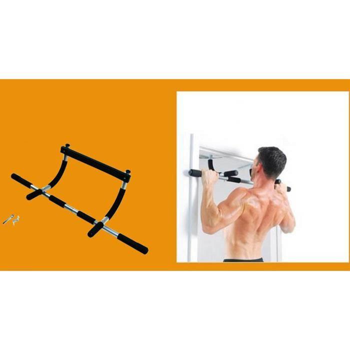 Barre De Traction Sport Démontable Multifonctions Exercices pour Musculation des Bras,Triceps,Sports