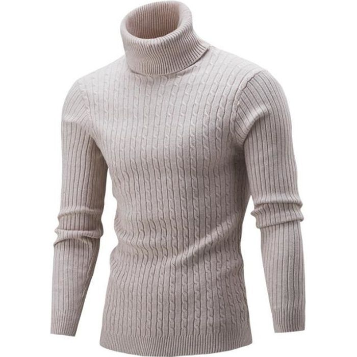 Pull homme Col roulé pull c M