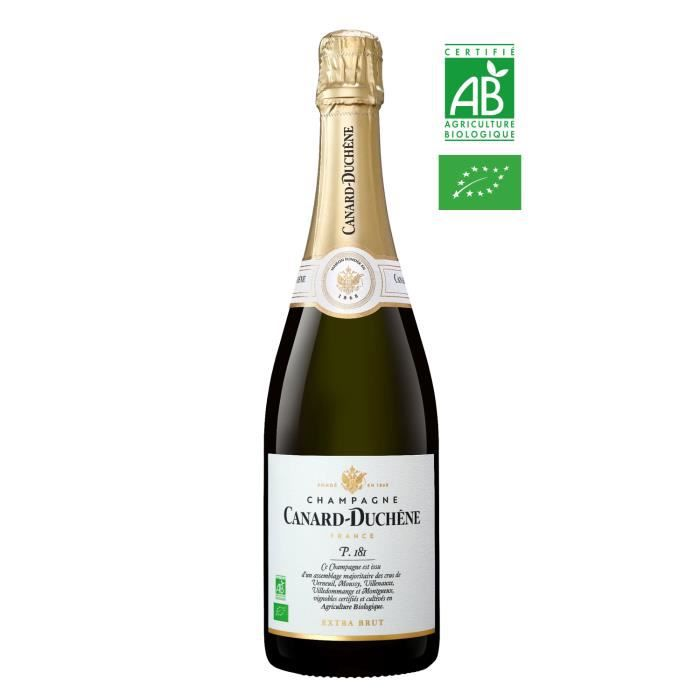 Champagne Canard Duchêne Parcelle 181 Bio Extra Brut - 75 cl