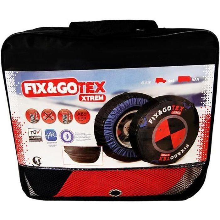 Chaussette neige FIX&GOTEX XTREM chaînes neige textile M1