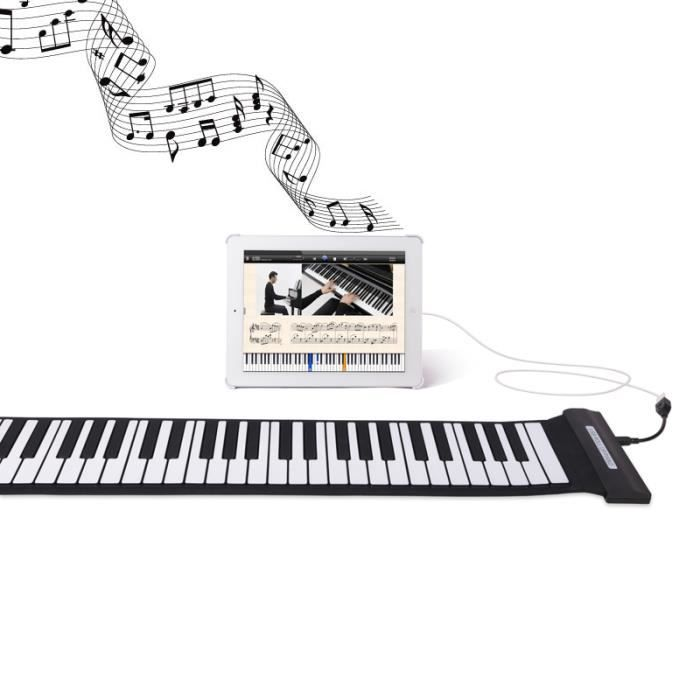 88 touches usb midi roll up piano lectronique clavier. Black Bedroom Furniture Sets. Home Design Ideas