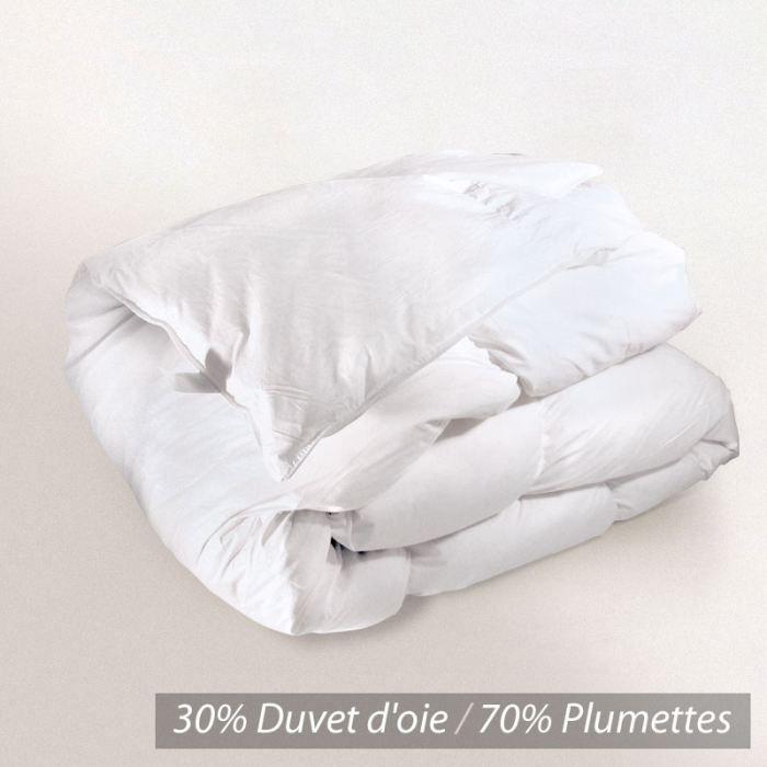 Couette duvet 220x240 duvet d oie - Achat