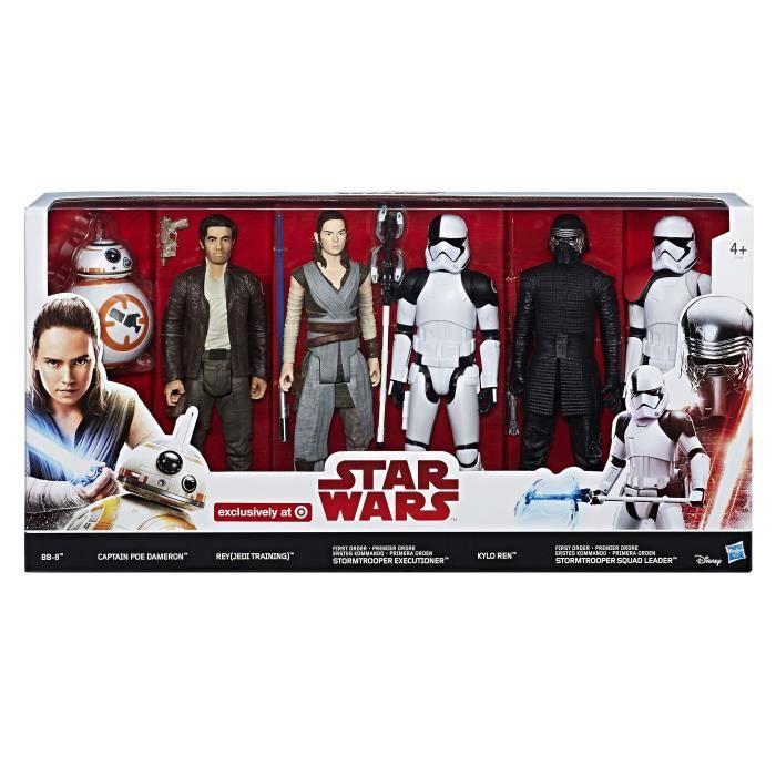 6 pouces Star Wars The Black Series épisode 8 Finn premier ordre Déguisement