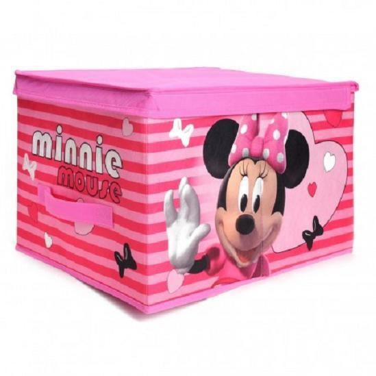 boite de rangement enfant disney minnie achat vente. Black Bedroom Furniture Sets. Home Design Ideas