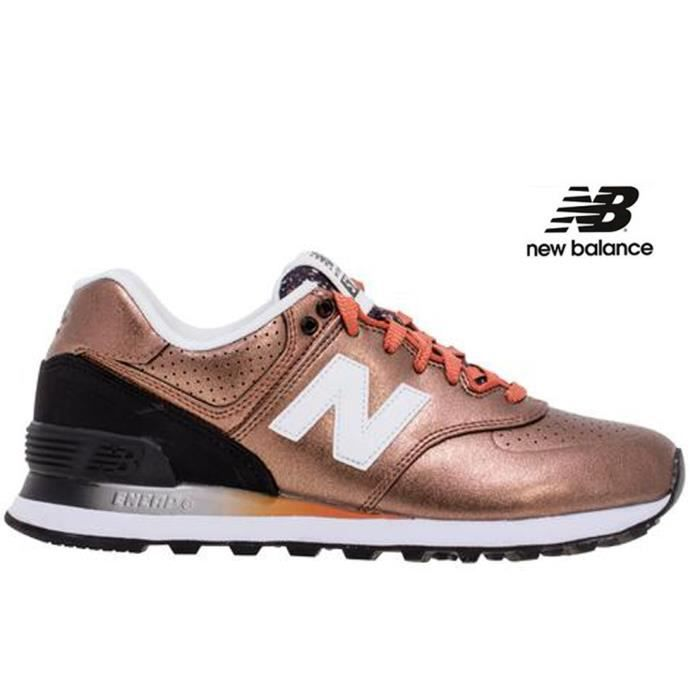 basket homme new balance marron