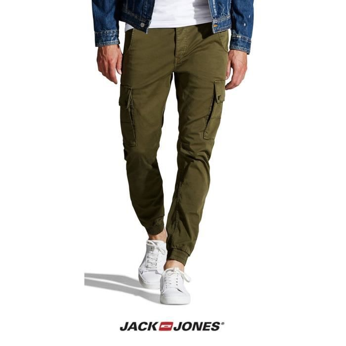 Bas de pantalon jack and jones - Achat   Vente pas cher 2a1eaeea1c26