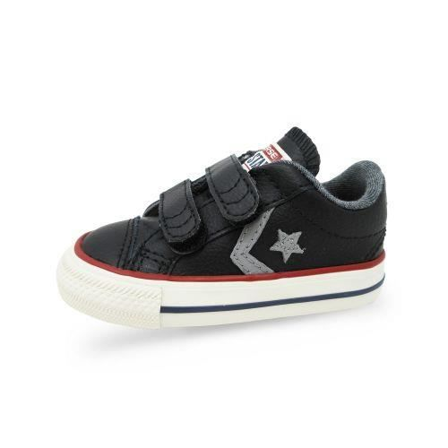 Baskets bébé Converse STAR PLAYER 2V Marine Jaune