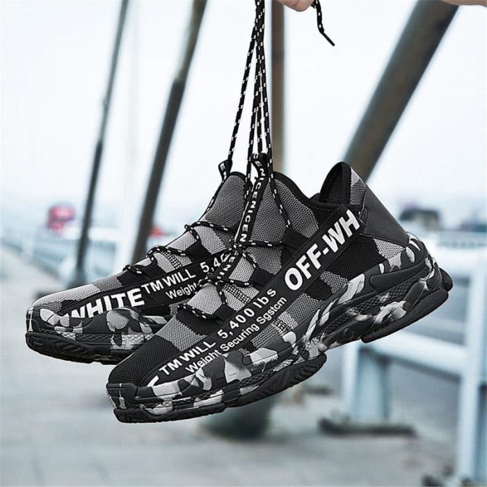 2019 Homme Chaussures de Course Sneakers Pour Hommes Confortable Sport Chaussures Hommes Tendance Chaussures de Marche Respirant