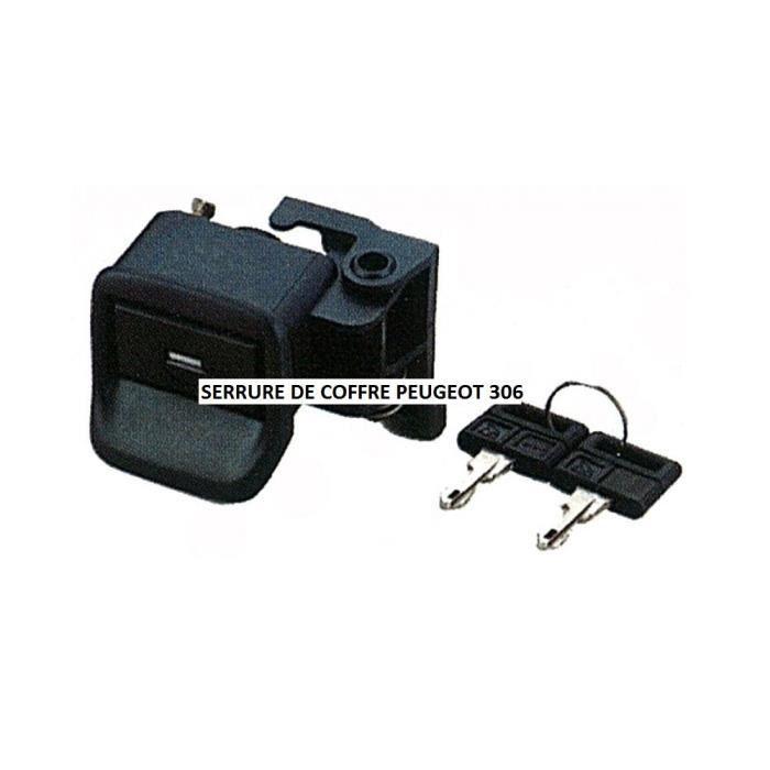 COFFRE - MALLE Barillet de coffre pour Peugeot 306 de 04/93 à 04/