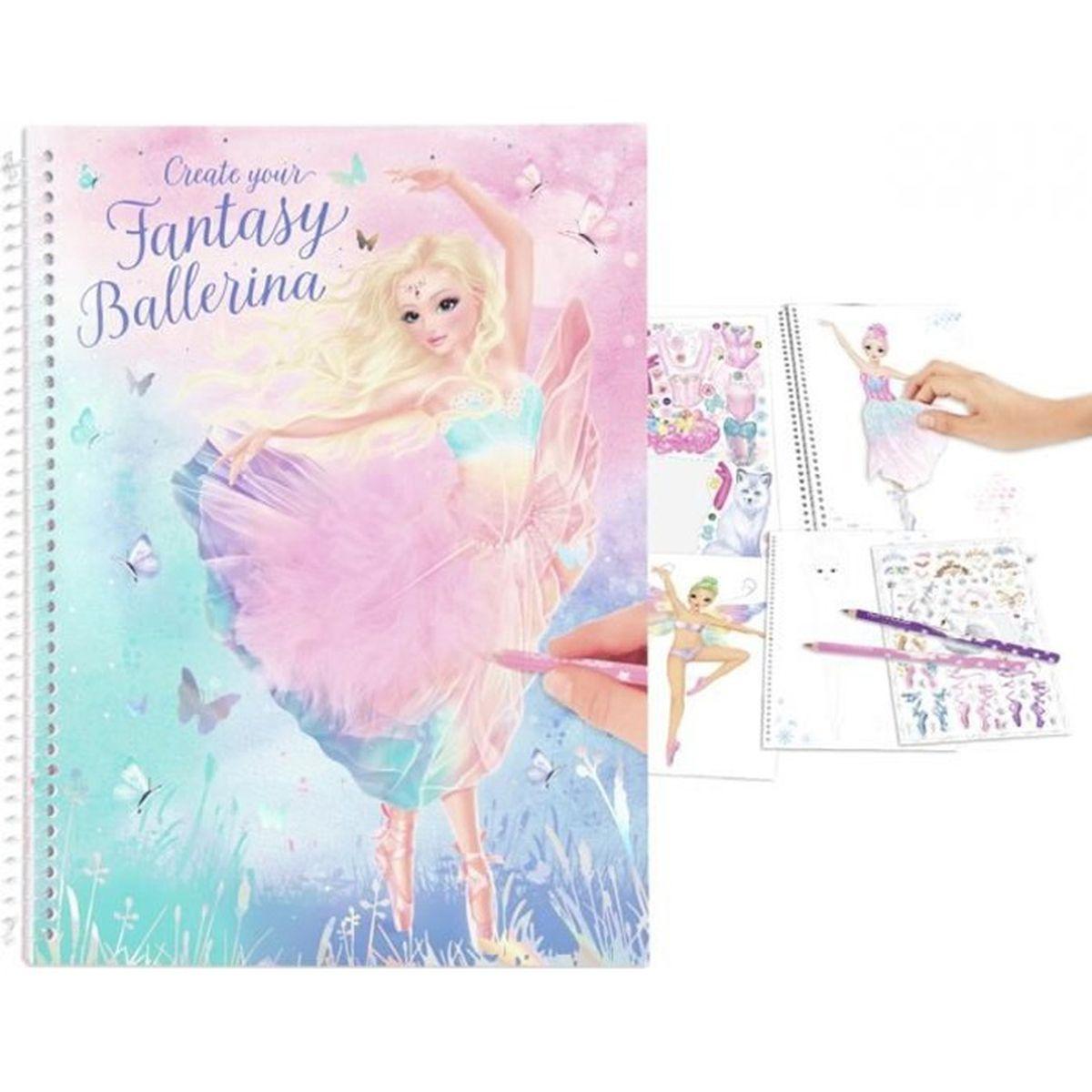 Album Coloriage Et Creation Topmodel Fantasy Ballerina Achat Vente Livre De Coloriage Cdiscount