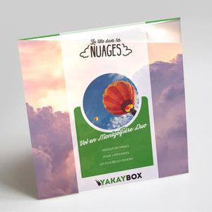 COFFRET SPORT - LOISIRS YAKAYBOX - Box Cadeau - Coffret Vol en Montgolfièr
