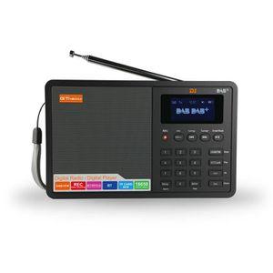 RADIO CD CASSETTE GTMEDIA D1 Portable Digital DAB + Radio FM RDS DRC