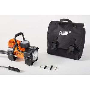 COMPRESSEUR 12V Pump'in ONE - Mini-compresseur avec lampe et manom