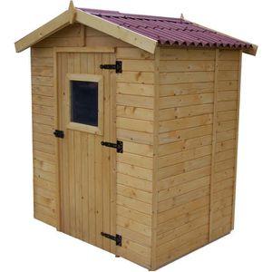 ABRI JARDIN - CHALET Abri de jardin 2,61m² en bois - Toiture en plaques