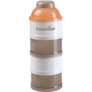 DOSEUR DE LAIT BABYMOOV Babydose Taupe/Abricot