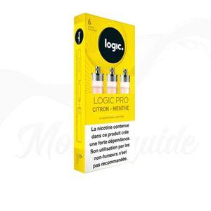 CARTOUCHE IMPRIMANTE 3 Cartouches Citron - Menthe - Recharges Logic Pro