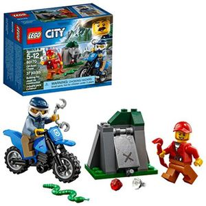 ASSEMBLAGE CONSTRUCTION Jeu D'Assemblage LEGO AUVUB City Off-Road Chase 60