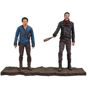 FIGURINE - PERSONNAGE Pack de 2 Figurines The Walking Dead TV Version :