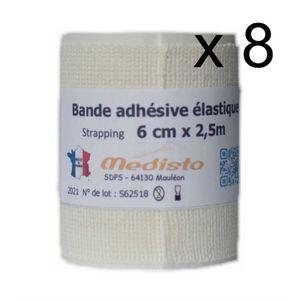 RÉSINE - COLLE Bande Adhésive Élastique/Bande Strapping/Bandage S