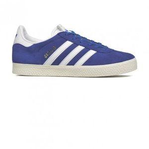 BASKET Chaussures Gazelle Blue/White Cadet e17 - adidas O