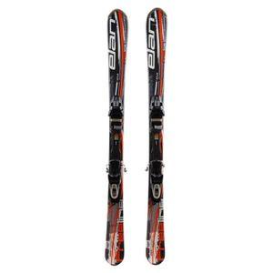 SKI Mini ski Elan Freeline + fixations