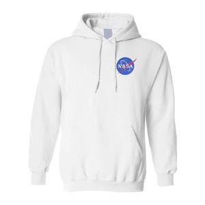 SWEATSHIRT Sweatshirt PSJUB NASA sweat à capuche brodé Espace